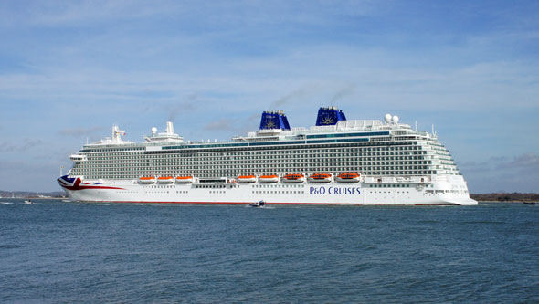 Pont Aven at Portsmouth - Photo: © Ian Boyle, 6th March 2015 - www.simplonpc.co.uk