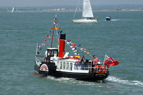MONARCH at Cowes - Photo: � Ian Boyle, 27th June 2009 - www.simplonpc.co.uk