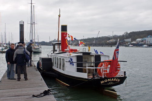 MONARCH at Cowes - Photo: � Ian Boyle,6th March 2010 - www.simplonpc.co.uk