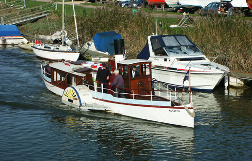 Monarch at Sandwich - Photo: � Ian Boyle, 30th October 2004 - www.simplonpc.co.uk