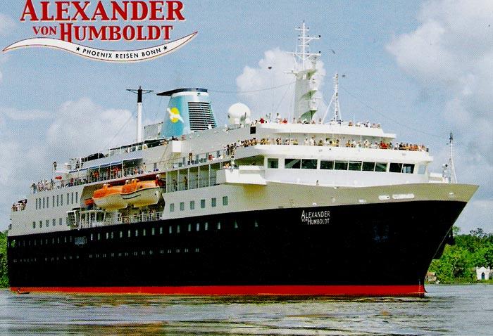 Phoenix Reisen Cruise Ship Postcards - Cruise ship amadea