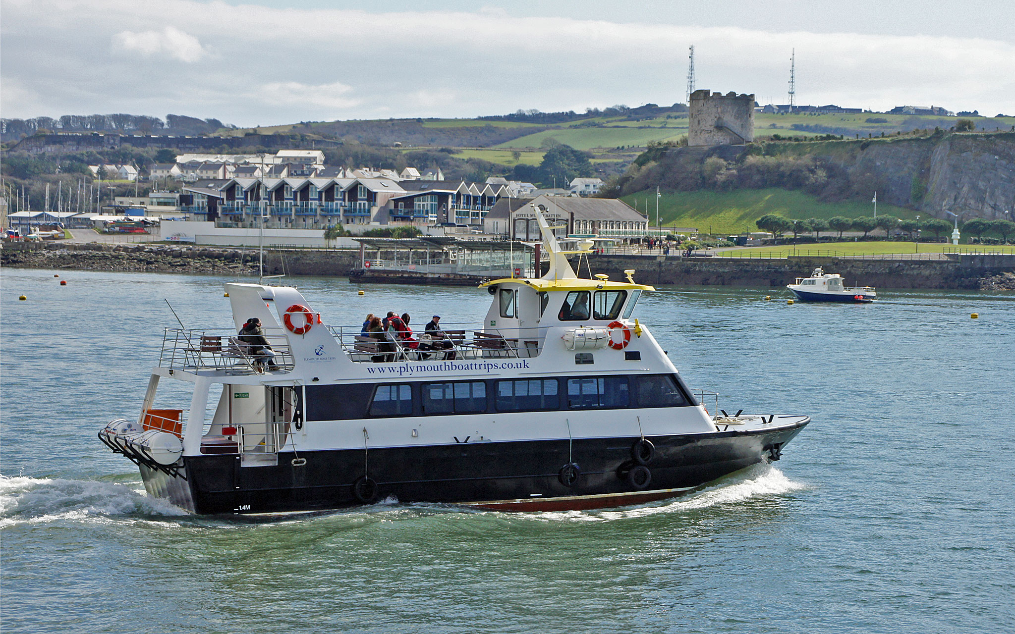Plymouth boat trips for Fishing boat trips