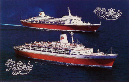 Premier Cruise Line Postcards
