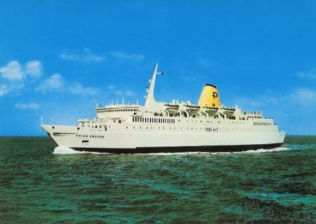 Lion Ferry Ship Postcards