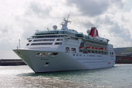 Empress (Pullmantur) at Dover - Photo: � Ian Boyle, 7th May 2010