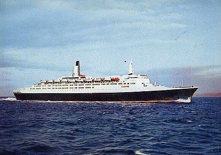 queen elizabeth 2 ship. of the Queen Elizabeth 2