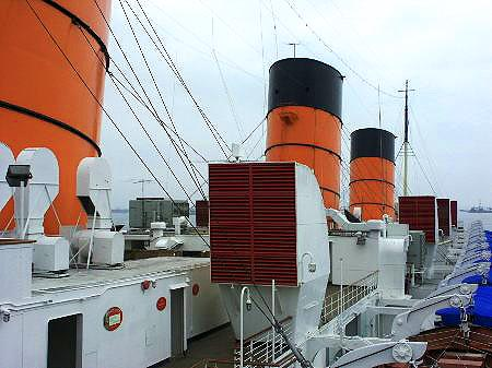 Rms Queen Mary Page 3 Photos At Long Beach Ocean