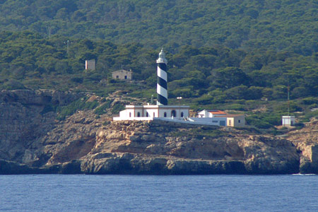 Cap de Cala Figuera Lighthouse - PALMA - Photo: © Ian Boyle, 26th August 2009