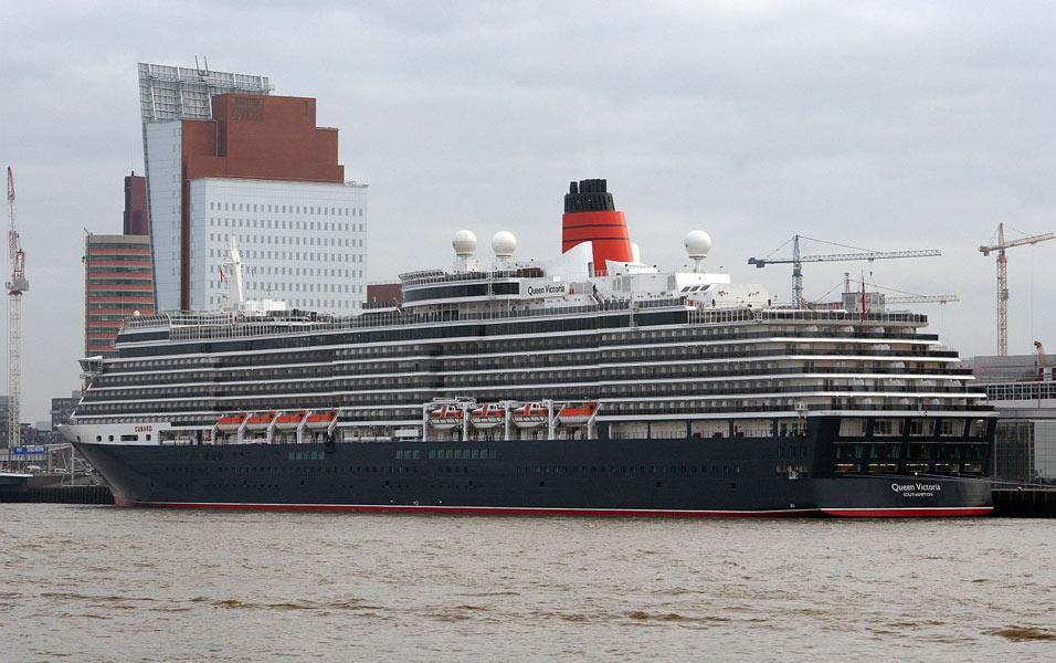 Cunard Line Cruise Ship Postcards - Queen elizabeth cruise ship wikipedia