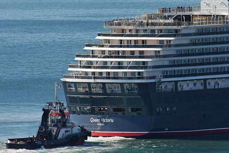 Queen Victoria Sea Trials - www.simplonpc.co.uk - Photo: © Sergio de Luyk, 1st September 2007