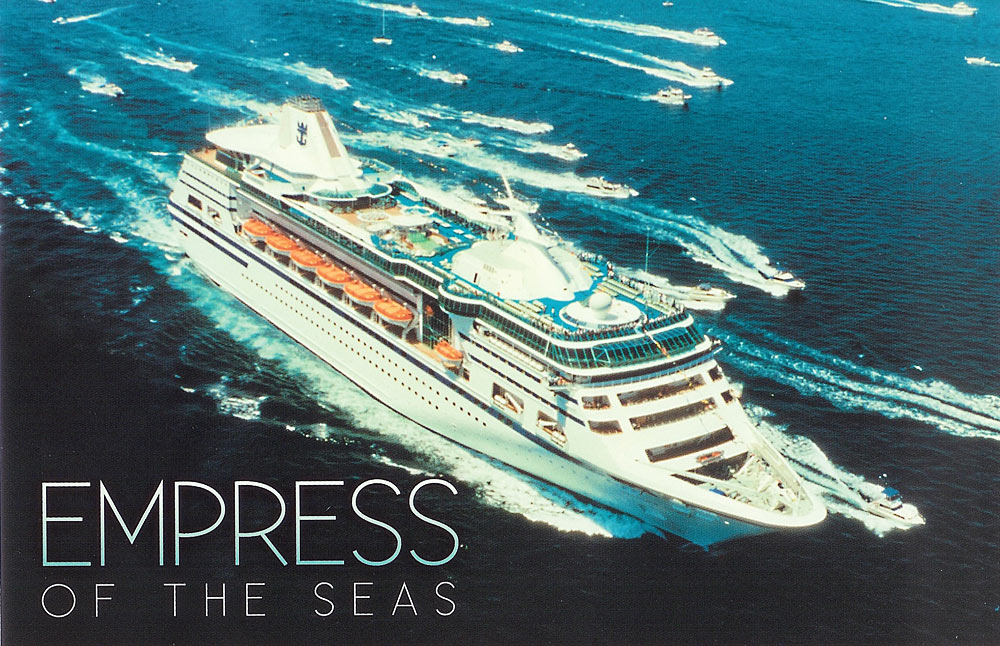 Royal Caribbean Cruise Ship Postcards Page - Empress of the seas cruise ship