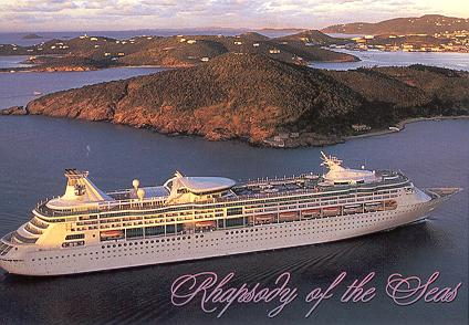 Royal Caribbean Cruise Ship Postcards Page - Pictures of rhapsody of the seas cruise ship