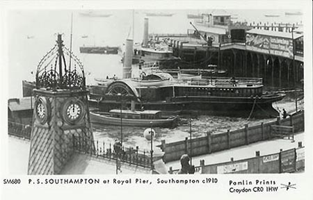 SOUTHAMPTON ROYAL PIER - www.simplonpc.co.uk