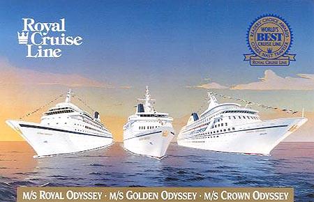 Crown Odyssey Norwegian Crown Cruise Ship Postcards - Royal odyssey cruise ship