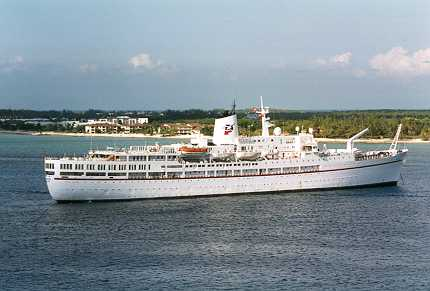 Sunbird Cruise Ship. Serenade - Louis Cruise Lines