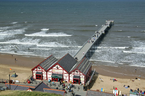 Saltburn Pier & Cliff Lift -  www.simplonpc.co.uk - Simplon Postcards