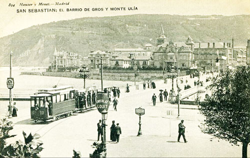 San Sebastian / Donostia Trams - www.simplompc.co.uk - Simplon Postcards
