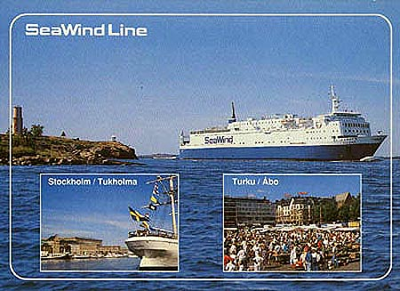 Postcard of Sea Wind in
