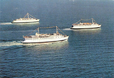 Sessan Line Ferry Postcards