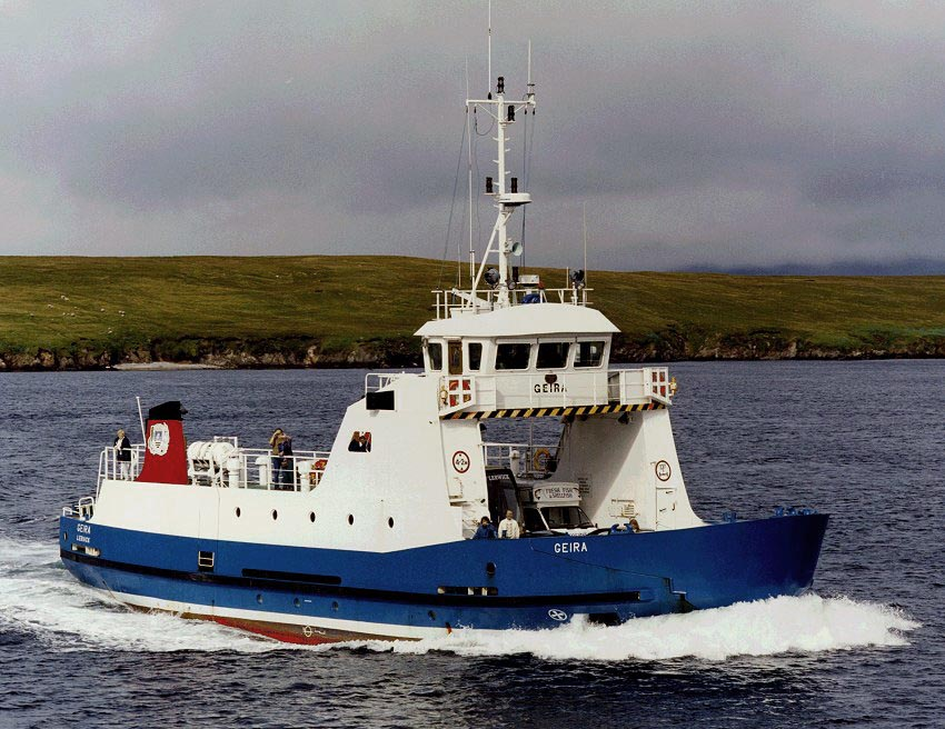 Shetland Islands Council - local ferries - Simplon Postcards
