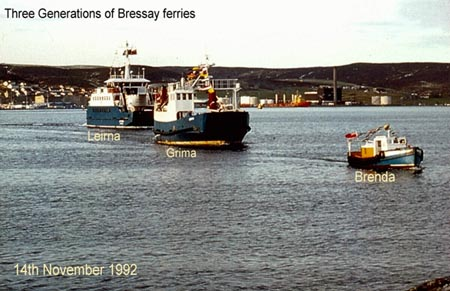 brenda bressay ferry It has been an intensely busy few weeks around here, and i'm really rather looking forward to spending a few days away in iceland i have just completed the second of two new designs for my forthcoming yokes book, and mel and i are very excited to have the opportunity to photograph.