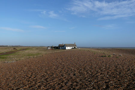 Shingle Street - Photo: © Ian Boyle, 5th December 2009