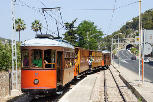 Sóller Tramway - Photo: ©2013 Ian Boyle - Simplon Postcards - simplonpc.co.uk