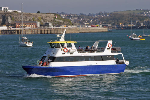 SPIRIT OF PLYMOUTH - Tamar Cruising - Photo: �2011 Ian Boyle - www.simplonpc.co.uk