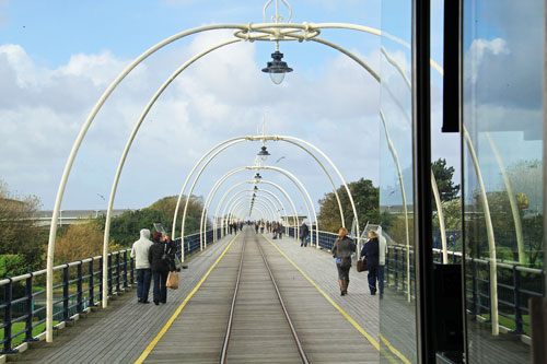 Southport Pier Tramway - Photo: ©David Pennock - 29th September 2012 - www.simplonpc.co.uk