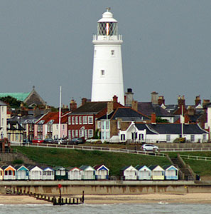 Southwold Lighthouse - Photo: � Ian Boyle, 7th July 2009