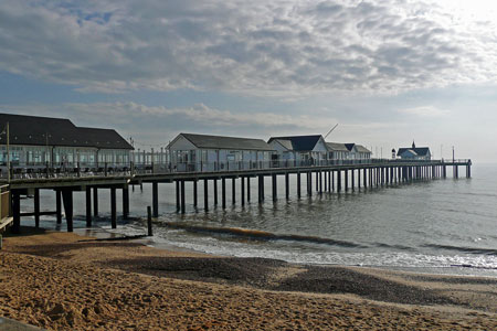 Southwold Pier - Photo: � Ian Boyle, 31st March 2008