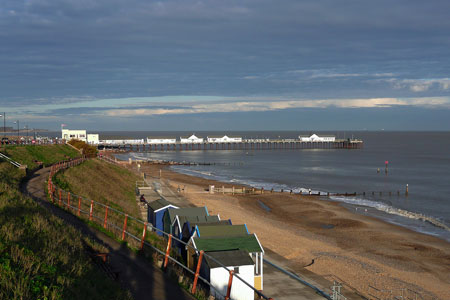 Southwold Pier - Photo: © Ian Boyle, 4th December 2009