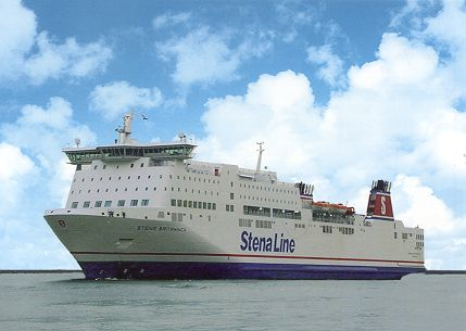 Stena Britannica Ferry Postcards