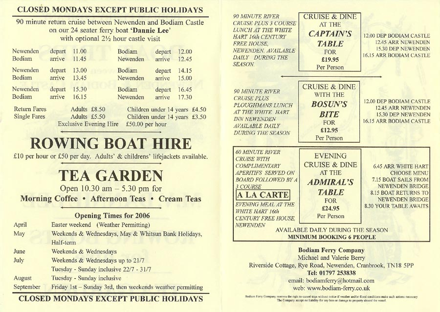 Danny Lee - Bodiam Castle-Newenden - Ferry Photographs