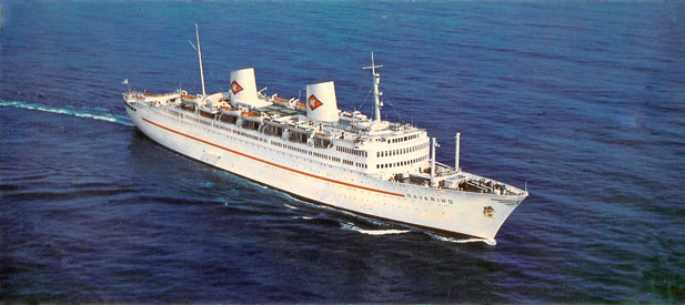 Swedush America Liner Gripsholm Of 1957
