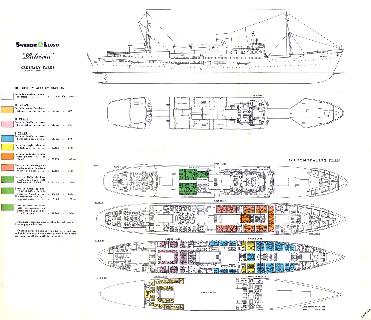 cargo ship deck plans Quotes