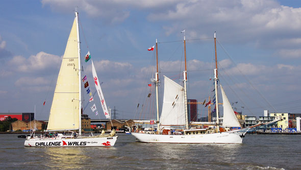 Tall Ships Parade of Sail - Photo: ©2014 Ian Boyle - www.simplonpc.co.uk