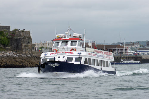 PLYMOUTH SOUND - Tamar Cruising - Photo: �2011 Ian Boyle - www.simplonpc.co.uk