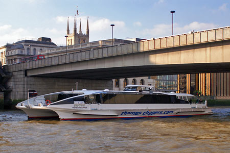 Meteor Clipper - Thames Clippers -  Photo: ©2008 Ian Boyle - www.simplonpc.co.uk