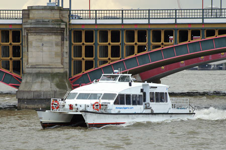 Storm Clipper - Thames Clippers -  Photo: © Ian Boyle - www.simplonpc.co.uk
