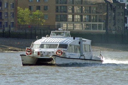 Storm Clipper - Thames Clippers -  Photo: © 2007 Ian Boyle - www.simplonpc.co.uk