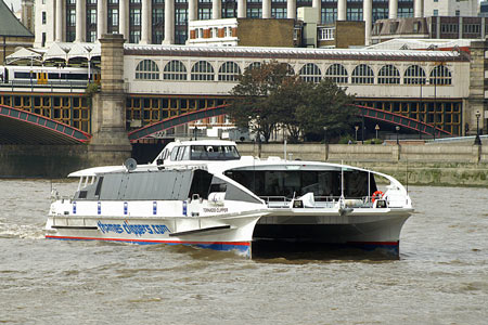 Tornado Clipper - Thames Clippers -  Photo: © Ian Boyle - www.simplonpc.co.uk