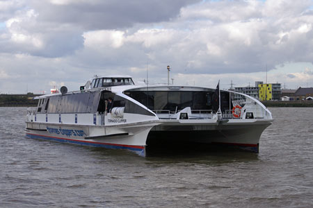 Tornado Clipper - Thames Clippers -  Photo: ©2007 Ian Boyle - www.simplonpc.co.uk