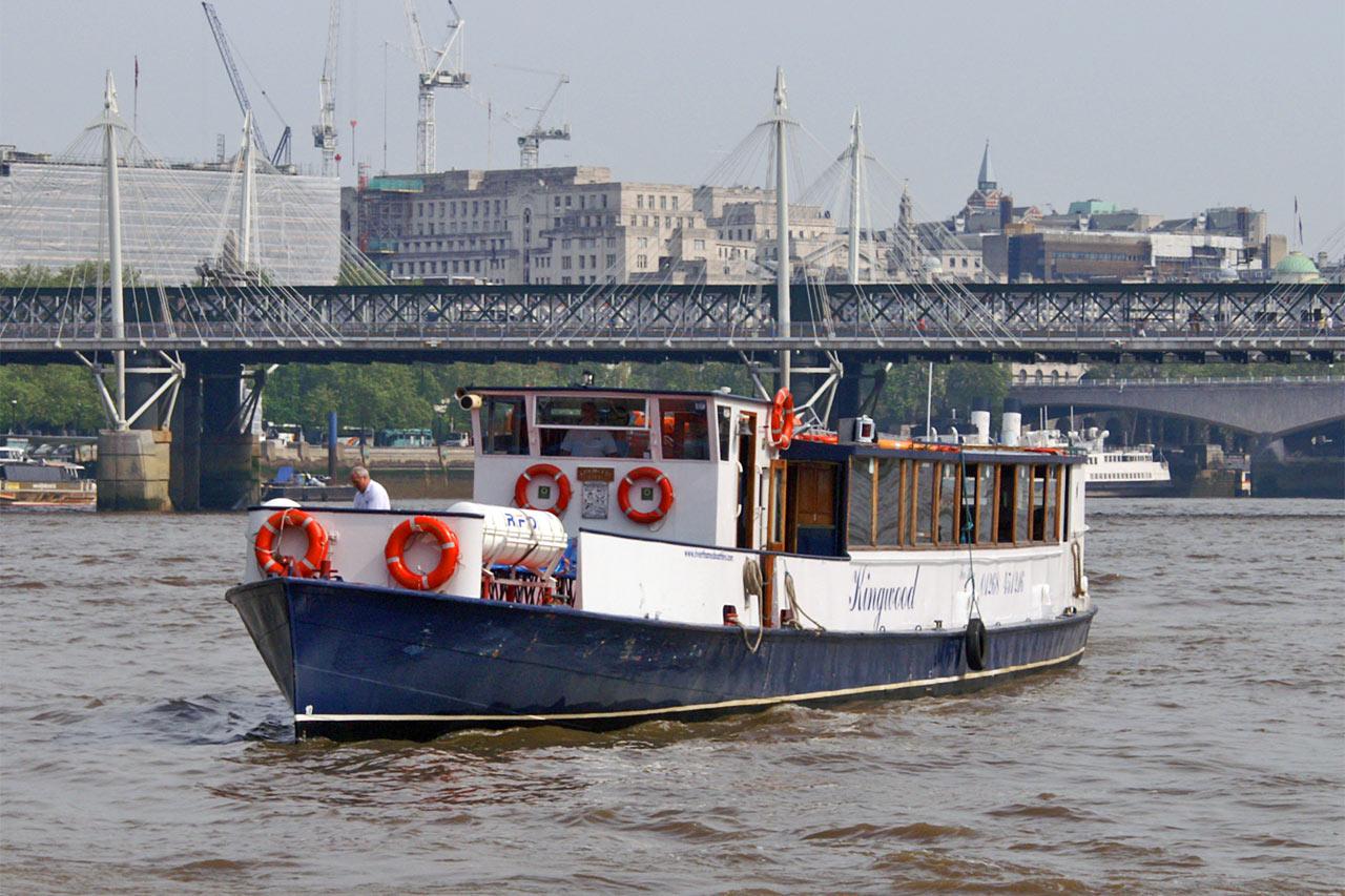 Kingwood River Thames Boat Hire Joseph Mears King