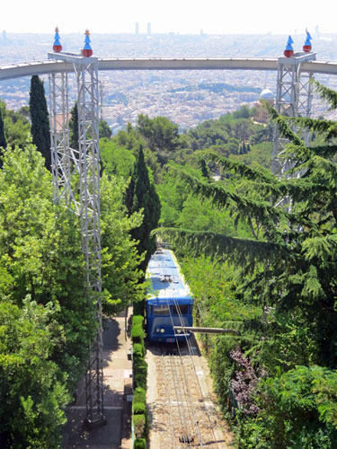 Barcelona - Tibidabo Funicular - Photo: © Ian Boyle, 7th July 2013 - www.simplompc.co.uk - Simplon Postcards