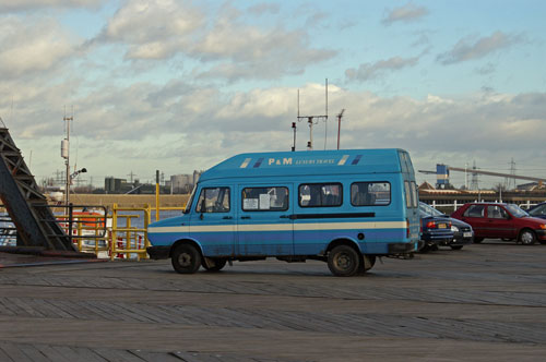 Rail Replacement bus Tilbury Riverside - Photo: � Ian Boyle, 4th January 2007 - www.simplonpc.co.uk