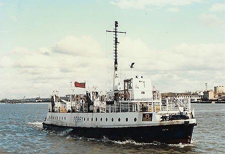 Tilbury Gravesend Ferry Edith