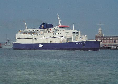 Portsmouth To Le Havre >> Viking Valiant Pride Of Le Havre Pride Of Cherbourg 2