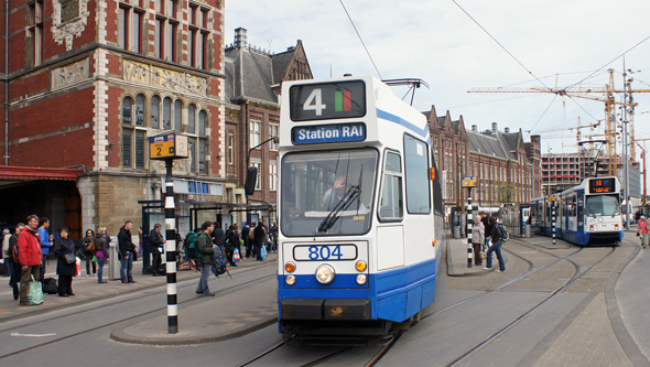 Amsterdam Trams - GVB - www.simplonpc.co.uk