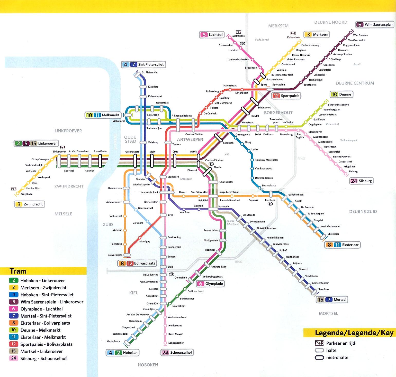 Antwerp Trams Simplon Postcards
